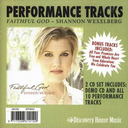 Faithful God, CD Trax   -     By: Shannon Wexelberg