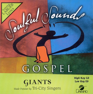 Giants, Accompaniment CD   -     By: The Tri-City Singers