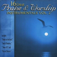 16 Great Praise & Worship Instrumentals, Volume 2 CD   -