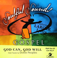 God Can, God Will, Accompaniment CD   -     By: Dottie Peoples