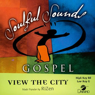 View the City, Accompaniment CD   -     By: Rizen
