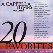 20 Acappella Hymns, Volume 2, Compact Disc [CD]   -