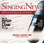 Jesus Loves Me, Accompaniment CD   -
