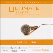 Just As I Am (Medium Key Performance Track With Background Vocals)  [Music Download] -