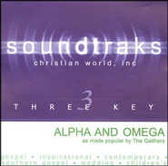 Alpha And Omega, Accompaniment CD   -     By: The Gaithers