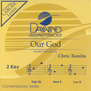 Our God, Accompaniment CD   -     By: Chris Tomlin