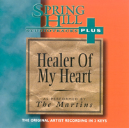 Healer of My Heart, Accompaniment CD   -     By: The Martins