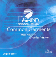 Common Garments, Accompaniment CD   -     By: Greater Vision