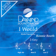 I Would, Accompaniment CD   -     By: Ronnie Booth