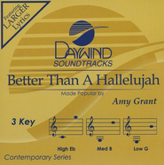 Better Than A Hallelujah, Accompaniment CD   -              By: Amy Grant