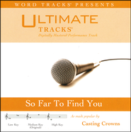 So Far To Find You - Demonstration Version  [Music Download] -