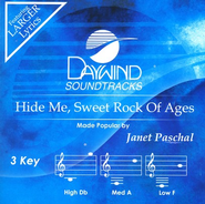 Hide Me, Sweet Rock Of Ages, Accompaniment CD   -     By: Janet Paschal