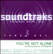 You're Not Alone, Accompaniment CD   -     By: The Kingsmen