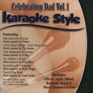 Celebrating Dad, Volume 1, Karaoke Style CD   -