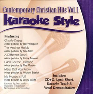 Contemporary Christian Hits, Volume 1, Karaoke Style CD   -