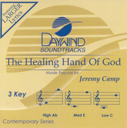 The Healing Hand Of God, Accompaniment CD   -     By: Jeremy Camp