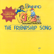 The Friendship Song, Accompaniment CD   -