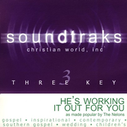 He's Working It Out For You, Accompaniment CD   -     By: The Nelons