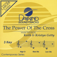 The Power Of The Cross, Accompaniment CD   -     By: Keith Getty