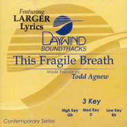 This Fragile Breath, Accompaniment CD   -              By: Todd Agnew