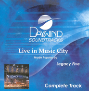 Live In Music City, Complete CD Tracks   -              By: Legacy Five