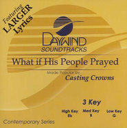 What If His People Prayed, Accompaniment CD   -     By: Casting Crowns