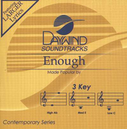 Enough, Accompaniment CD   -     By: BarlowGirl