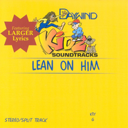 Lean On Him, Accompaniment CD   -