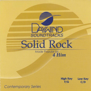 Solid Rock, Accompaniment CD   -     By: 4Him