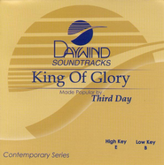 King of Glory, Accompaniment CD   -     By: Third Day