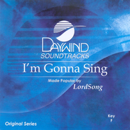 I'm Gonna Sing, Accompaniment CD   -     By: LordSong