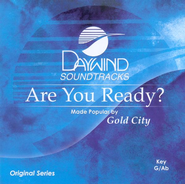 Are You Ready? Accompaniment CD   -     By: Gold City