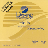 He Is, Accompaniment CD   -     By: Aaron Jeoffery