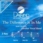 The Difference Is In Me, Accompaniment CD   -     By: Gaither Vocal Band