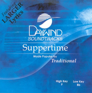Suppertime, Accompaniment CD   -