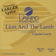 Lion And The Lamb, Accompaniment CD   -     By: Crystal Lewis