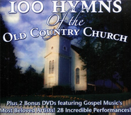 100 Hymns Of The Old Country Church (4CD/2DVD) Set   -