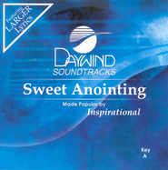 Sweet Anointing, Accompaniment CD   -