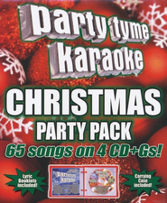 Party Tyme Karaoke: Christmas Party Pack, 4 CDs   -