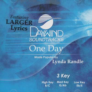 One Day, Accompaniment CD   -     By: Lynda Randle