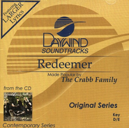 Redeemer, Accompaniment CD   -     By: The Crabb Family