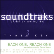 Each One, Reach One, Accompaniment CD   -              By: Babbie Mason