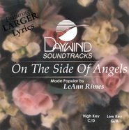 On The Side Of Angels, Accompaniment CD   -     By: LeAnn Rimes