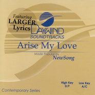 Arise My Love, Accompaniment CD   -     By: NewSong