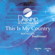 This Is My Country, Accompaniment CD   -