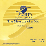 The Measure Of A Man, Accompaniment CD   -              By: 4HIM