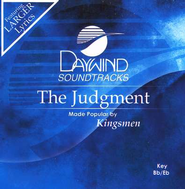 The Judgment, Accompaniment CD   -     By: The Kingsmen