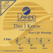 This I Know, Acc CD   -              By: New Life Worship