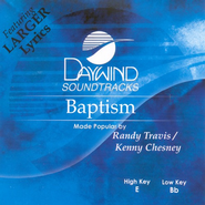 Baptism, Accompaniment CD   -              By: Randy Travis