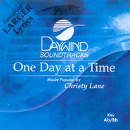 One Day At A Time, Accompaniment CD   -